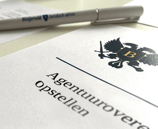 Argentuurovereenkomst opstellen of neem contact op