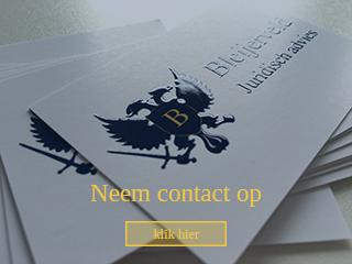 Neem contact op - Geheimhoudingsovereenkomst