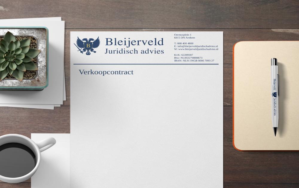 Contracten opstellen - Verkoopcontract